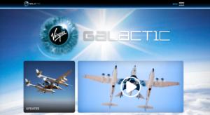Virgin Galactic web design